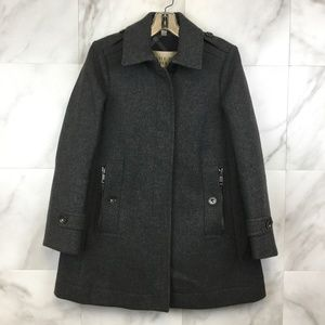 Burberry Brit Wool Peacoat - size 6